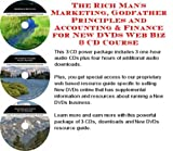 img - for The Rich Man's Marketing, Godfather Principles and Accounting & Finance for New DVDs Web Biz 3 CD Course book / textbook / text book