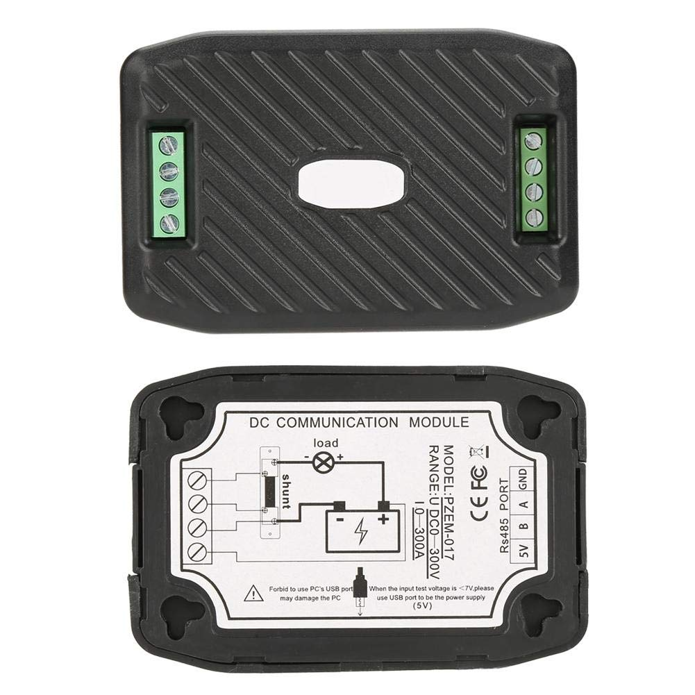 Akozon DC Verbrauchsz/ähler Energieverbrauchsz/ähler PEACEFAIR PZEM-017 DC-Spannung Frequenz Leistung Kommunikationsmodul Wattmeter Verbrauchsanalyseger/ät #8 PZEM-017+100A Shunt+USB zu RS485 modul