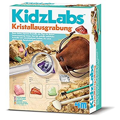 """4M 68555 """"Kidz Labs Crystal Mining Science Kit: Toys & Games"""