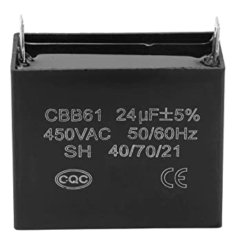 450v Ac 24uf 50 60hz Run Capacitors Cbb61 Square Starting Capacitor Generator For 400 350 300 250vac Ul Ru Listed Amazon Ca Industrial Scientific
