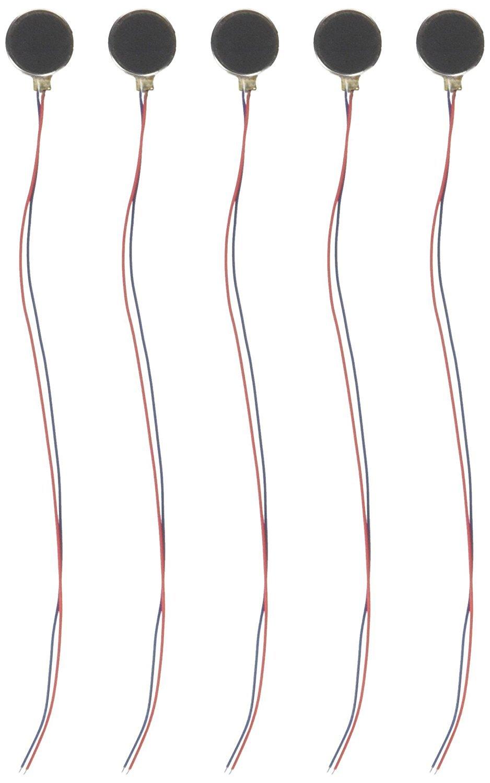 5pcs DC3 V/0.1 A 1.5 V/0.05 A 10 x 2.7 mm monedas telé fono mó vil vibració n motor SGerste