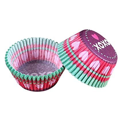 Leoy40 Floral Print Round Baking Paper Cake Liner Cake Muffin Case Fascinating Cake Decorators Tool Box