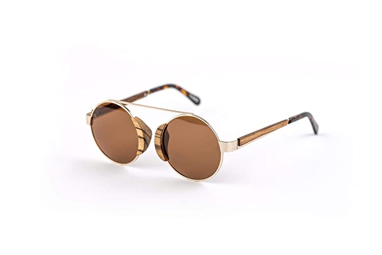 Unique Wooden Polarized Sunglasses