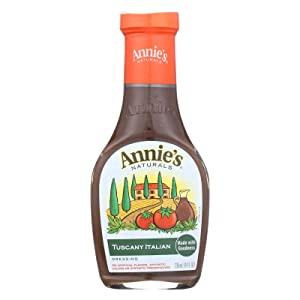 Annies Homegrown Tuscany Italian Dressing, 8 Ounce