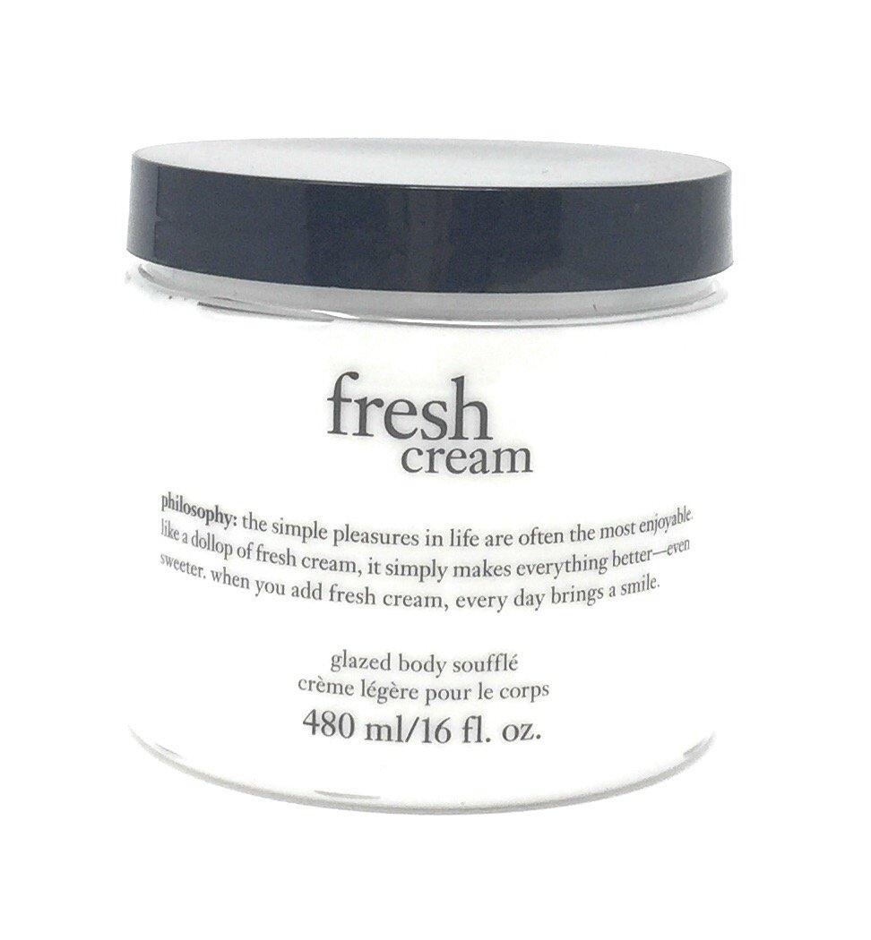 Philosophy Fresh Cream Glazed Body Souffle 16oz by Philosophy (Image #1)