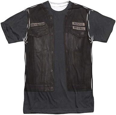 Disfraz De Hijos De La Anarquía Juice Para Hombre De Sublimación Camiseta Blanco Blanco Small Amazon Es Ropa Y Accesorios