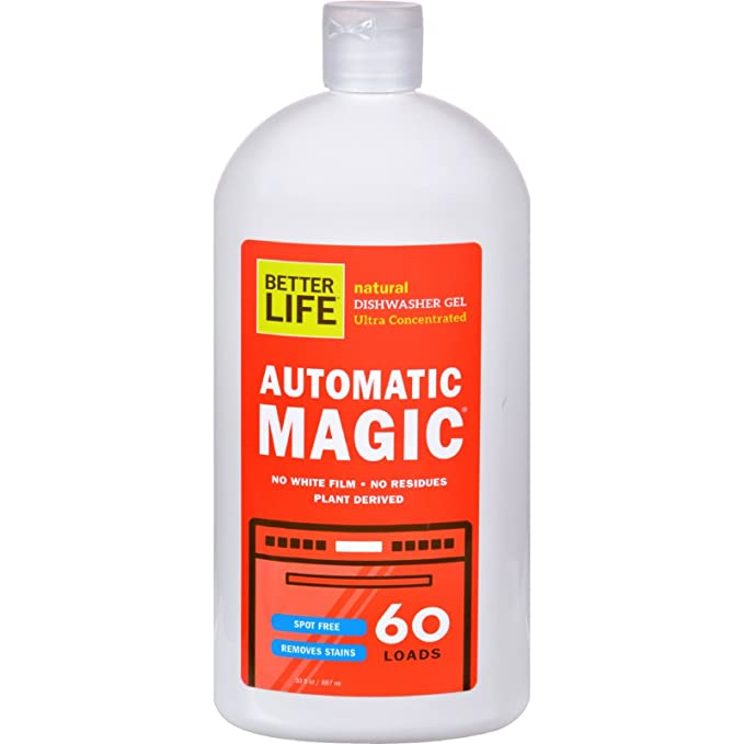 Mejor vida automático Magic Natural lavavajillas Gel - Ultra ...