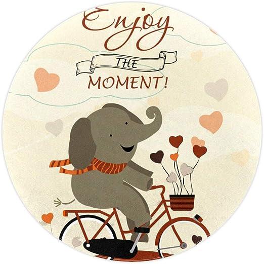 Vockgeng Elefantes andan en Bicicleta en Dibujos Animados ...