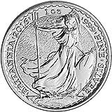 2016 UK Great Britain Silver Britannia 1 oz BU British Royal Mint