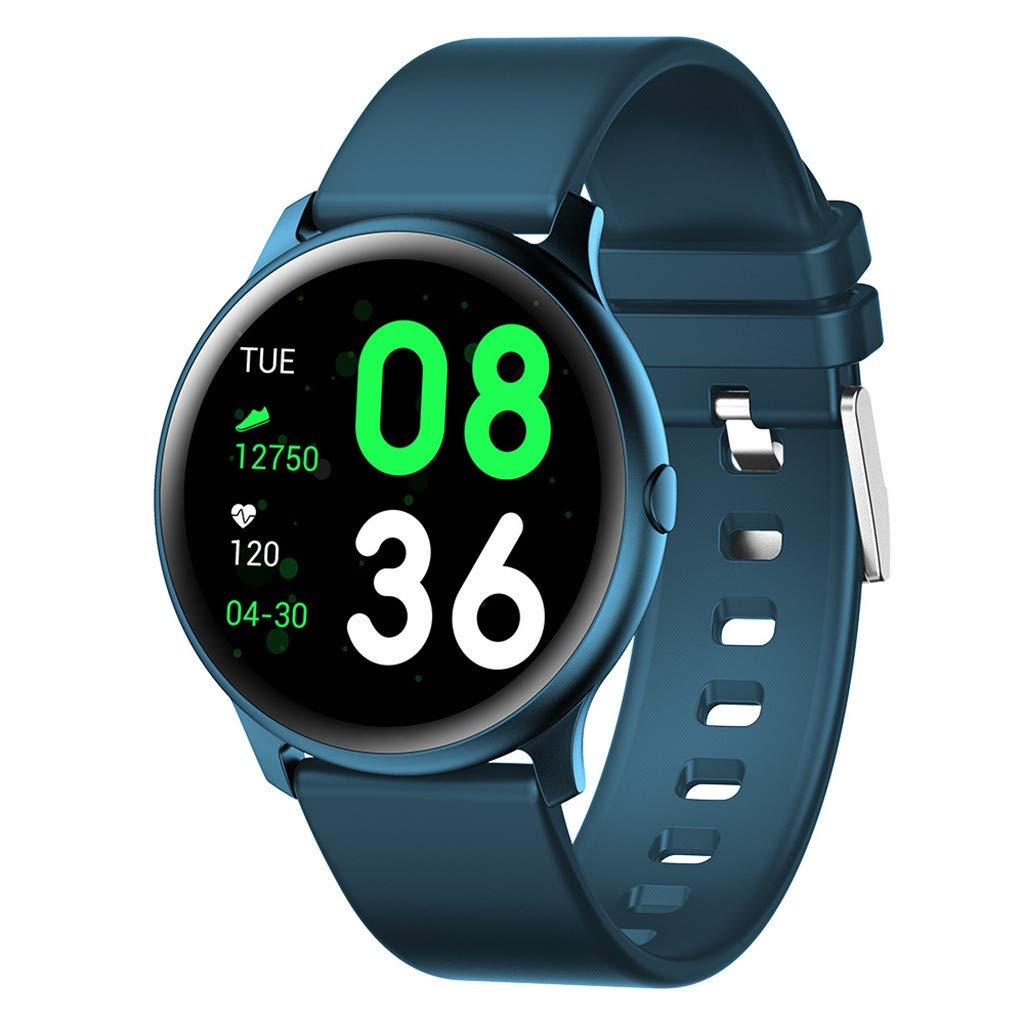 YEZIJIN watch Smartwatch for Men Women - Waterproof IP67 Blood Pressure Heart Rate Monitor Sport Smartwatch for Father Men Kids Youth Teens Boyfriend Lover's Birthday Gift by YEZIJIN watch