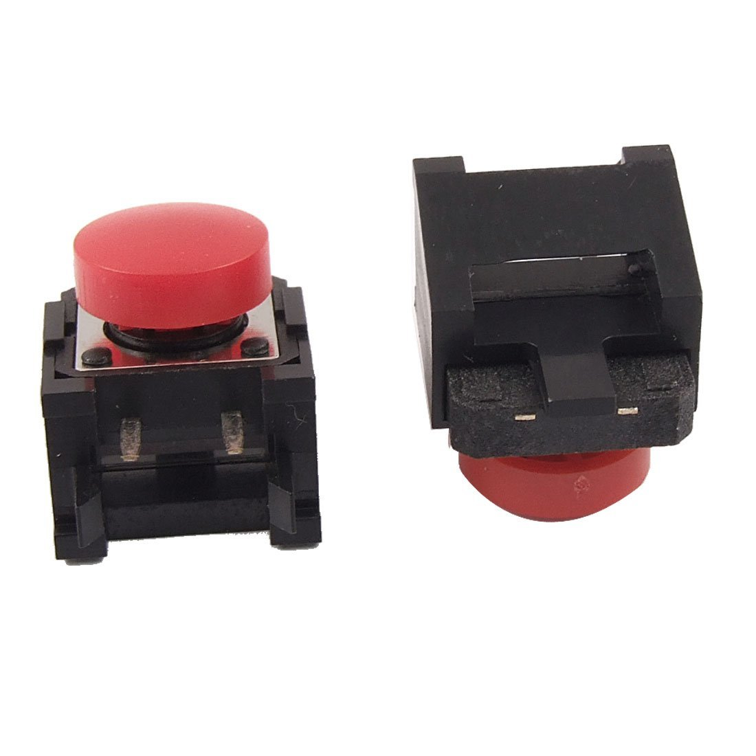 Uxcell Momentary Tactile/Push Button Switch, 12 x 12 x 8mm