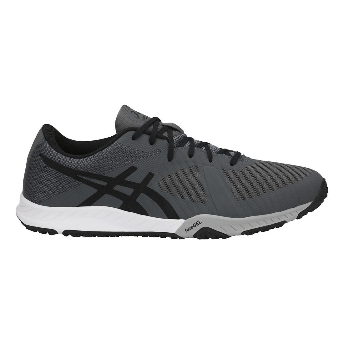ASICS Mens Weldon x Fabric Low Top Lace up Running Sneaker B072J1T347 10 D(M) US Carbon/Onyx/Mid Grey