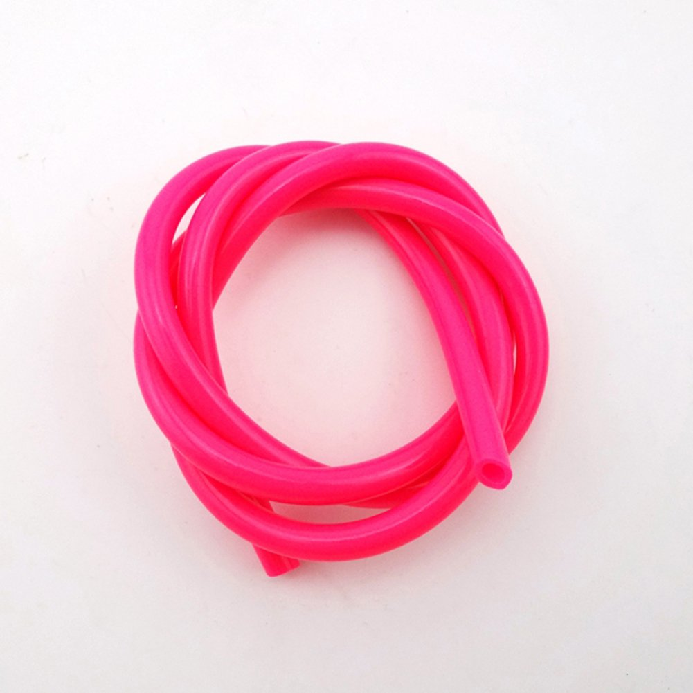 STONEDER Pink 5mm 1 Meter Fuel Hose Line For Pit Dirt Motor Bike ATV Quad Go Kart Buggy Motorcycle Motocross