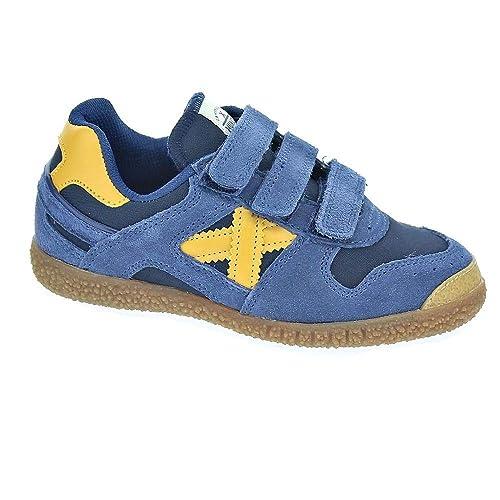 Munich Mini Goal 1401 - Zapatillas Niña: Amazon.es: Zapatos y complementos