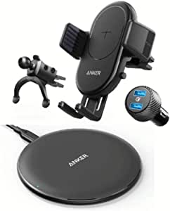 Anker Bundle of Wireless Charger and Wireless Charging Car Mount