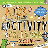 Best WORKMAN PUBLISHING Kids Crafts - Kid's Awesome Activity Wall Calendar 2019 Review