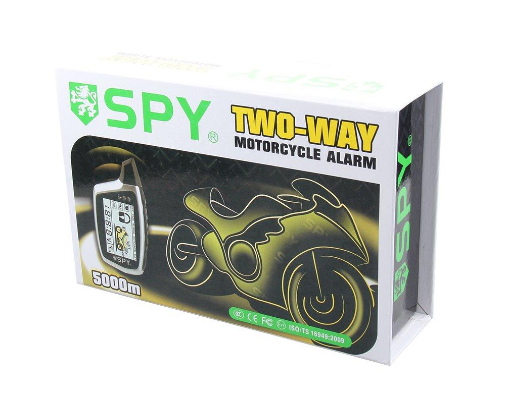 Universal SPY batería 2 way motocicleta sistema de alarma ...