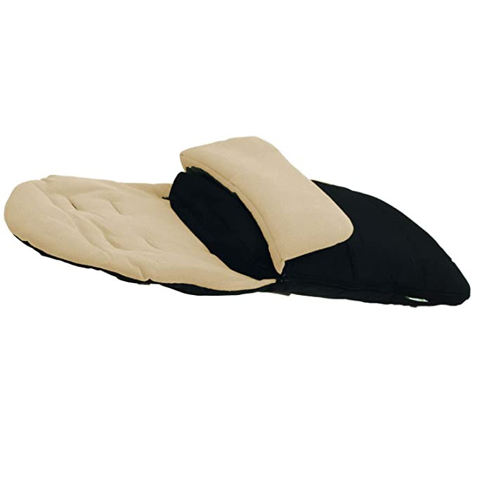 Black Jack Premium Footmuff//Cosy Toes Compatible with Mothercare Orb