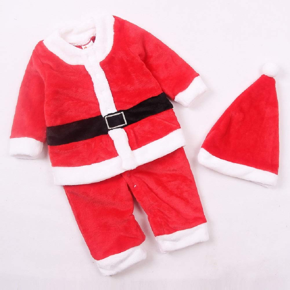 hat 2 St/ück Set Lee Little Angel New Santa Claus Boys EIN St/ück