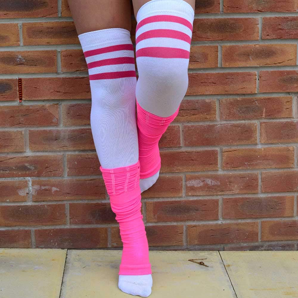 Girls Ballet Dance Fashion Leg Warmers One Size Range of Bright Colours Green