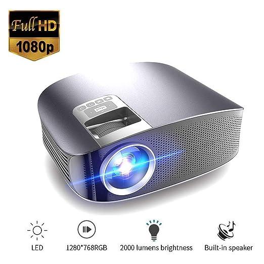 Meteor fire Mini proyector de películas Multimedia, Lente LED roja ...