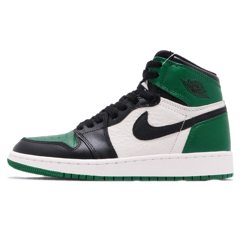 189c4ebdf9513 Amazon.com | NIKE Air Jordan I 1 Pine Green GS BG 575441-302 SU Size ...
