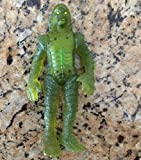 1997 Halloween transparent green movie action figure Burger King Kids Club Creature of the Black Lagoon universal monsters promo