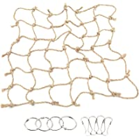 VWH Rope Net Pet Parrot Bird Chew Play Climbing Chewing Toys Swing Hammock Toy with Hook Hanging Pet Birds Supplies