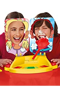 Amazon hasbro pie face game hasbro toys games funny gaming pie face cream showdown game pie face for kids and add fun for solutioingenieria Gallery