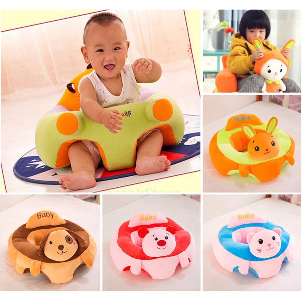 Baby Unterstützung Sitzkissen Sofa Sessel Weiche Plüsch Stuhl Kissen