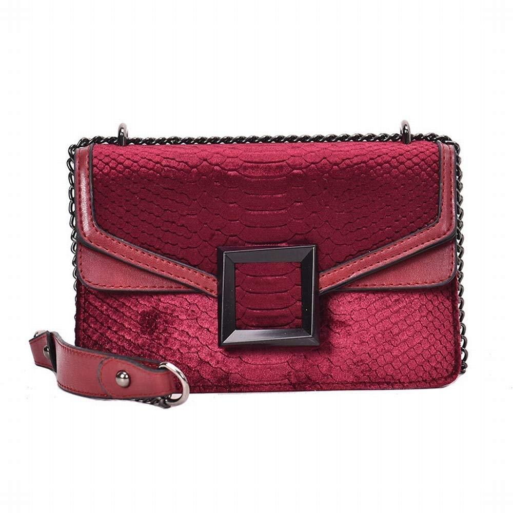 FELICIOO FELICIOO FELICIOO Handtasche Umhängetasche Umhängetasche Satchel-Taschen für Frauen (Farbe   Weinrot) B07NT687H1 Schultertaschen Extreme Geschwindigkeitslogistik 8d5883