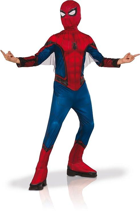 compra meglio alta qualità stili diversi Marvel I-630730L - Costume di Carnevale classico, Uomo Ragno con galosce, L