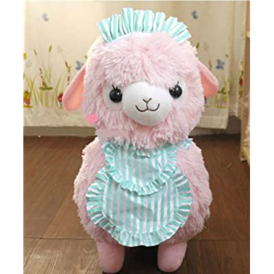 New Pink 45cm Arpakasso Alpaca Plush Toy Cafe Waiters and Maids: Office Products