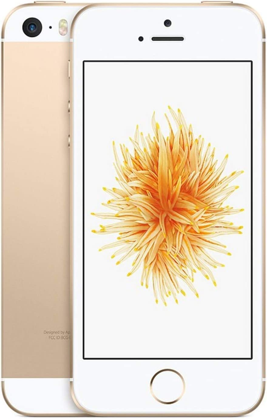 Apple iPhone SE, 32GB, Gold, For AT&T / T-Mobile (Renewed)