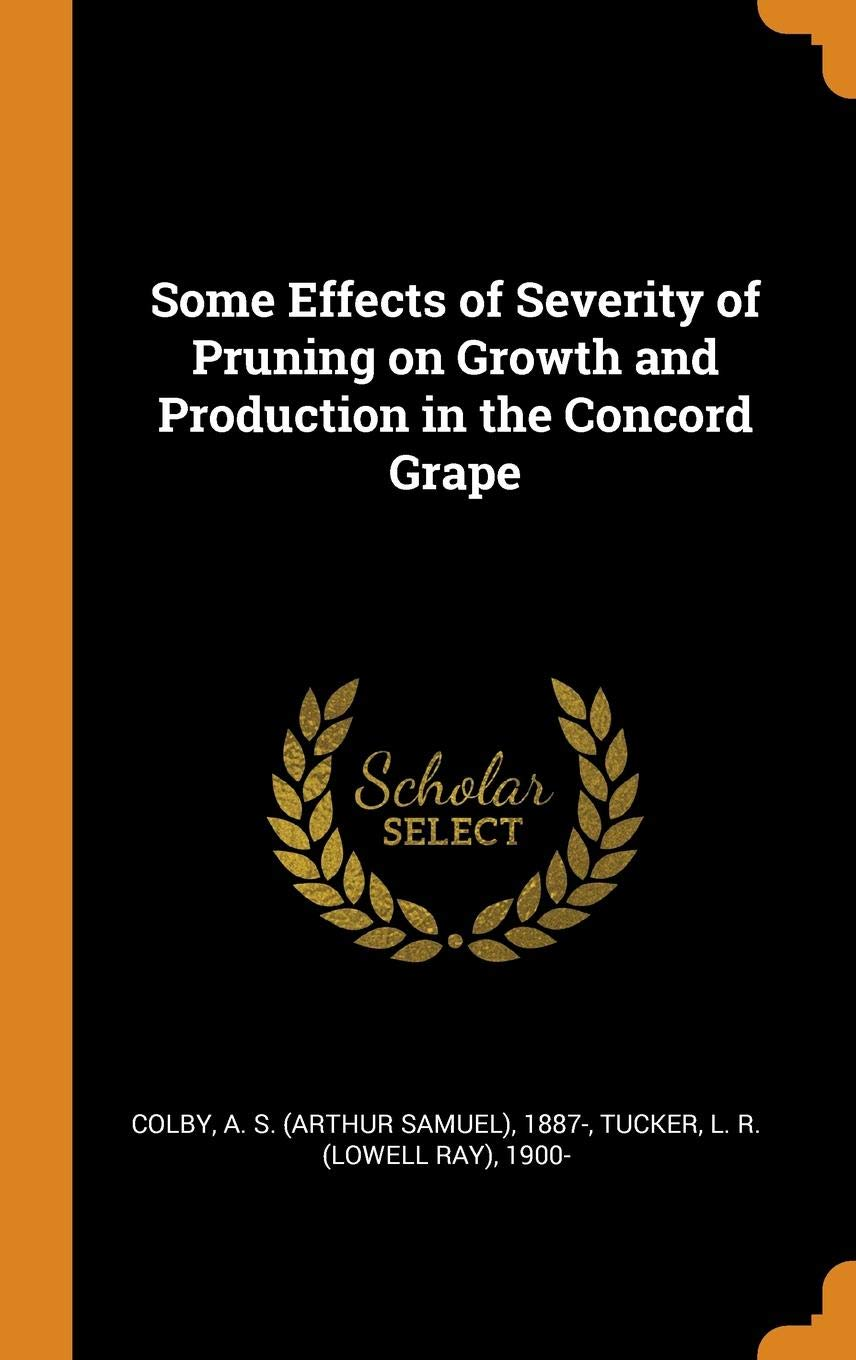 Some Effects Of Severity Of Pruning On Growth And Production In