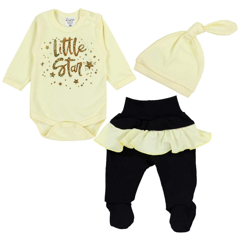 TupTam Baby Mädchen Bekleidungsset Little Star 3tlg.