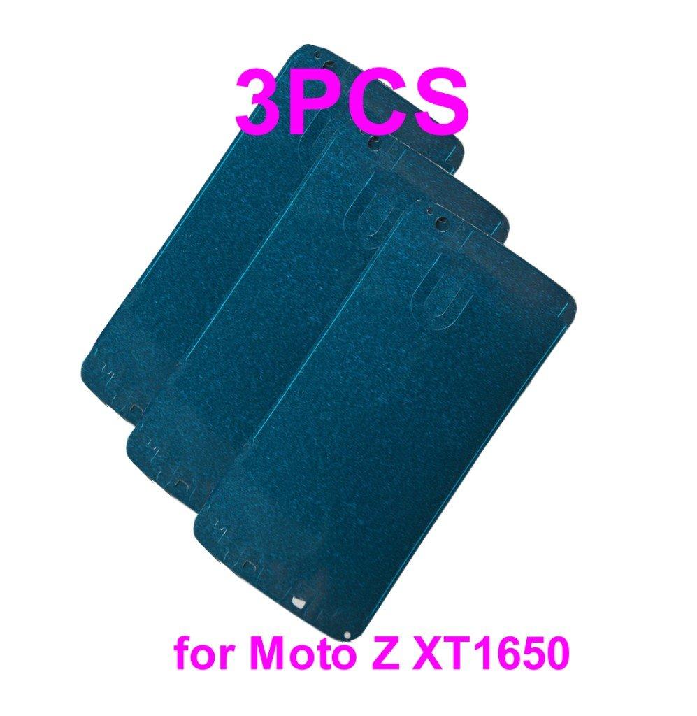 Pre-Cut Front Frame Bezel Faceplate Digitizer Glass Adhesive Glue Tape for Motorola Moto Z XT1650