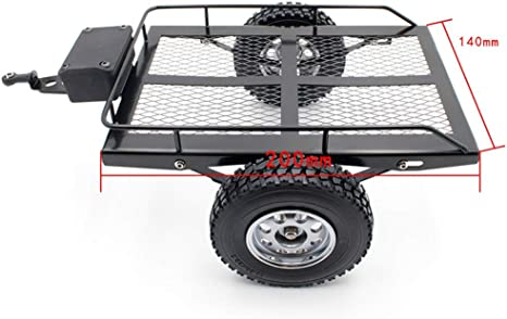 RC Racing Simulación Trailer Hopper Frame para Rock Crawler ...