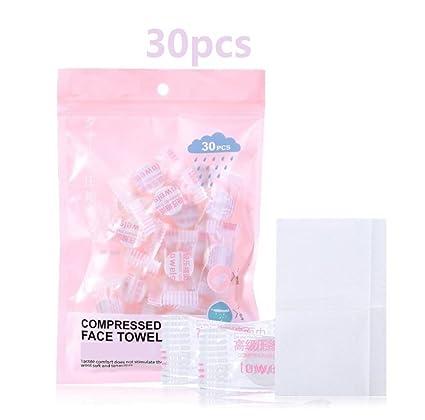 Herramientas cosméticas profesionales Toallas desechables portátiles mágicas comprimidas de la toalla de cara disponible mini para