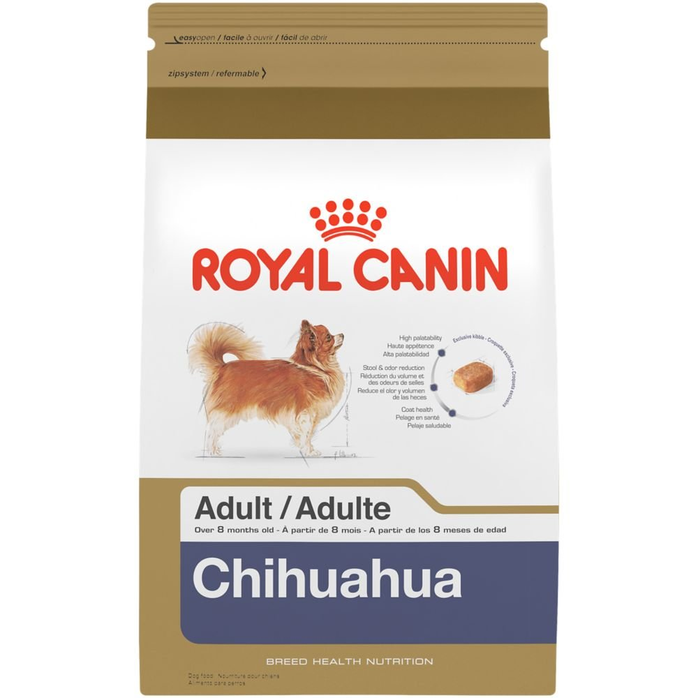 Royal Canin BREED HEALTH NUTRITION Chihuahua Adult dry dog food, 2.5-Pound