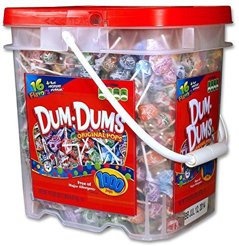 DUM DUMS Lollipops, 1,000 Count (Dum Dums Com)