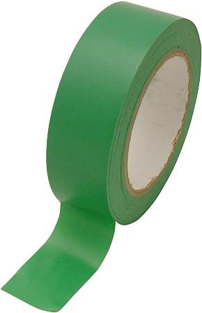 JVCC V-36P Premium Colored Vinyl Tape 1//2 in x 36 yds. Light Green