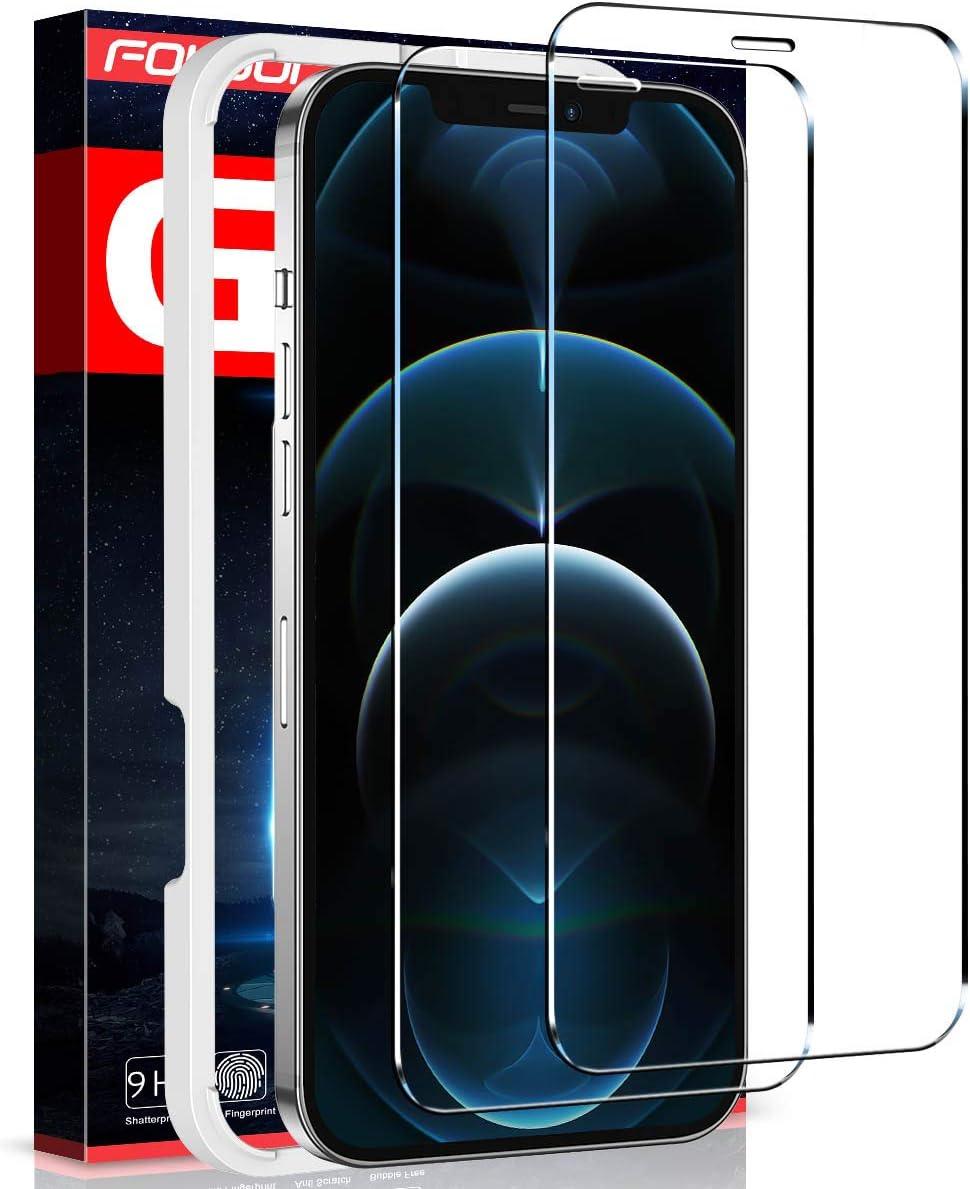 Protector de pantalla para iPhone 12 Pro Max (2un)Fotbor