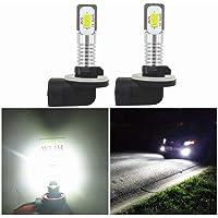 2x Xenon White 80W 881 898 862 LED Bulbs Fog Driving Light Foglight Lamp 6500K