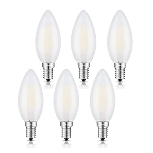 25x 60W CLEAR CANDLE INCANDESCENT FILAMENT LIGHT BULB SMALL EDISON SCREW SES E14