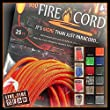 FireCord by Live Fire Gear - 550 Paracord with a Fire Starting Strand by Live Fire Gear
