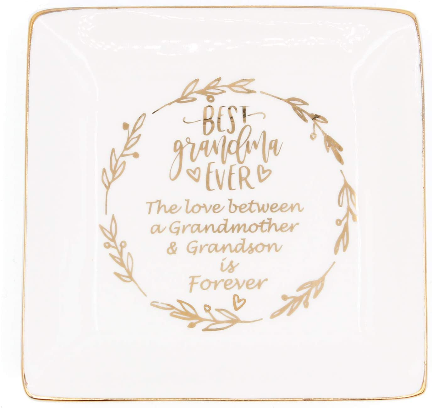 Nonnie Dish Gift from Grandchild Grandmother Gift Gift for Nonnie Handmade Ceramics Handmade Dish Nonnie Ring Dish Nonnie Heart Dish
