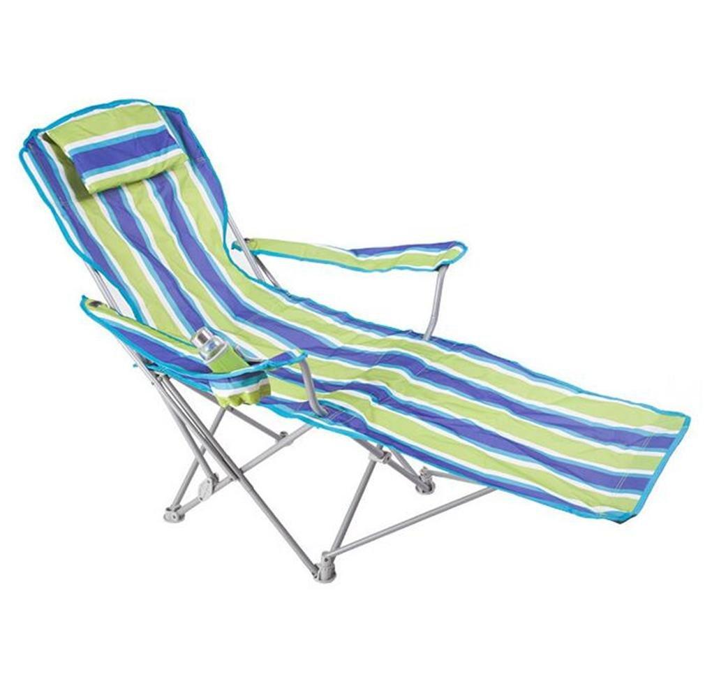 ZHDNG Klappstuhl im Freien Couch Moon Chair Angeln Camping Strand Outdoor-Freizeit