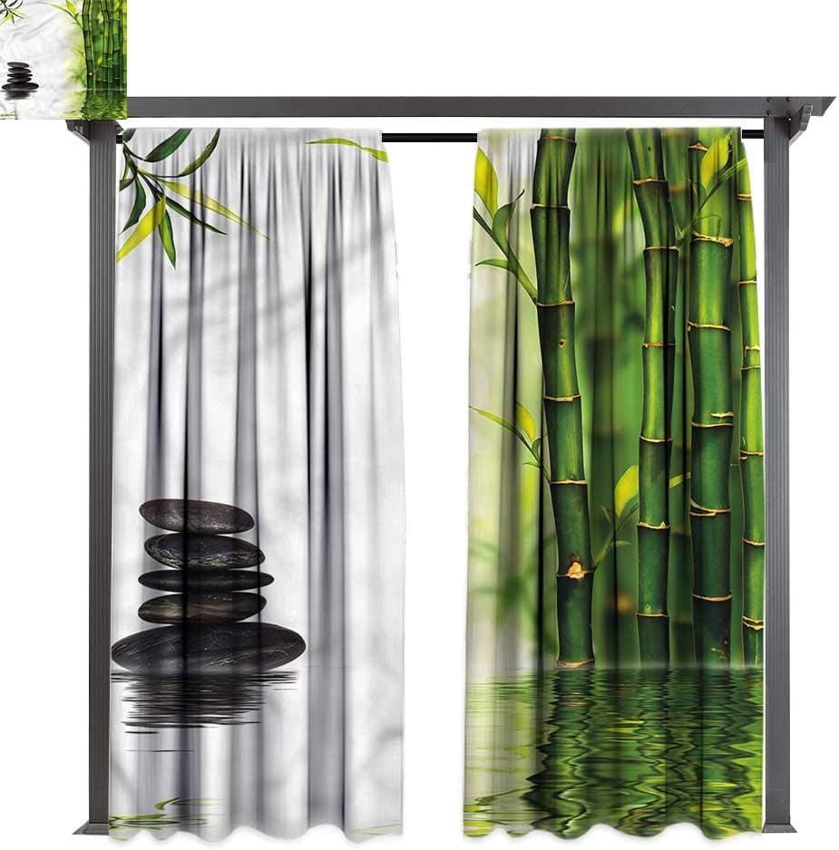 cobeDecor - Cortina de bambú para Exteriores, diseño de orquídeas ...