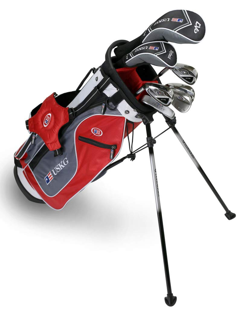 Amazon.com: U.S. Kids Golf UL54 7-club dv2 Stand Bag Set wt ...